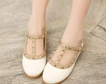 Patent Stud Shoes
