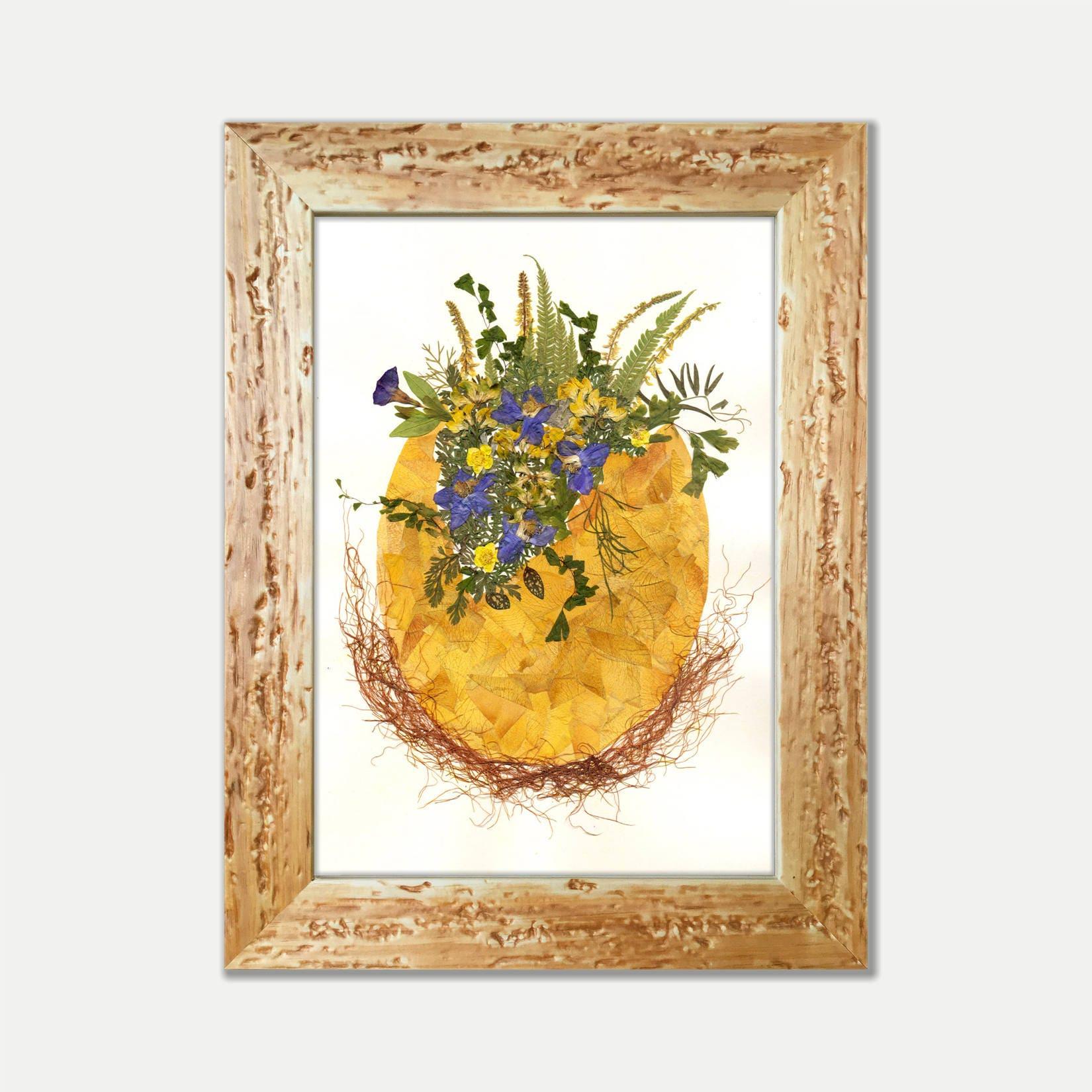 egg artegg flower artdried flower art