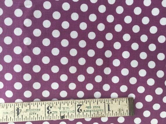 Riley Blake Basics Small Dot C320-125 Purple