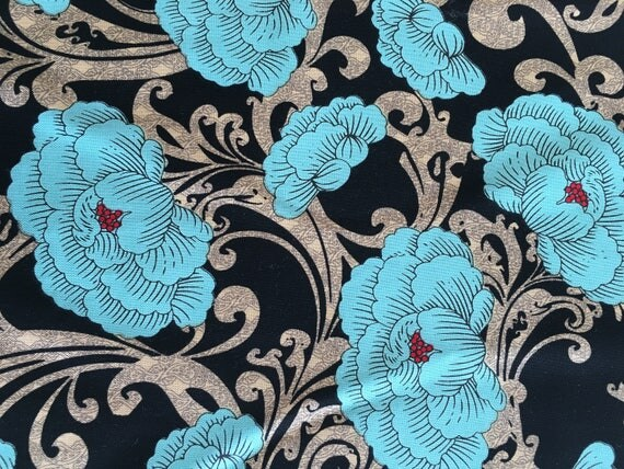 Bo Bunny Designs Serenity  by Riley Blake Remnant 1/4 yard to 1/2 yard