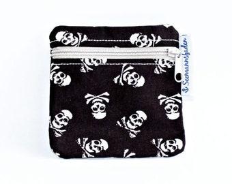 """Mini-bag """"skull"""", brown"""