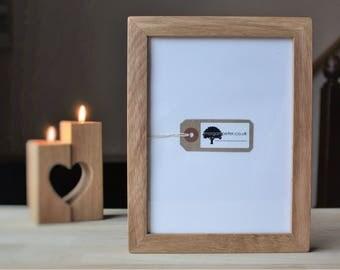 A5 Oak frame - Wooden photo frame