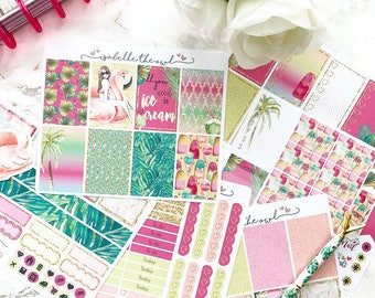 Happy Planner The Resort Weekly Kit Planner Stickers