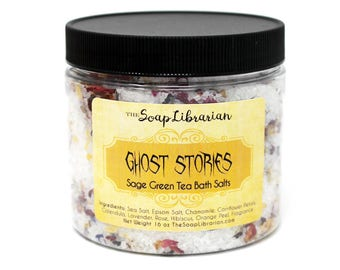 Ghost Stories Bath Salts - Reader Gift - Aromatherapy Bath Soak