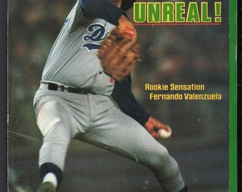 Vintage Magazine - Sports Illustrated : May 18, 1981 - Fernando Valenzuela