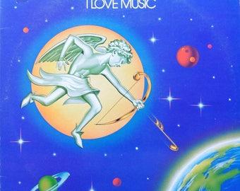 "Montana - ""I Love Music"" vinyl"