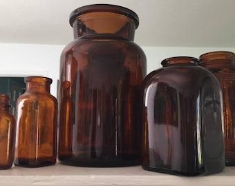 Apothecary Bottles.