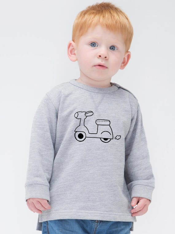 Boy Girl Baby sweater MOTORBIKE