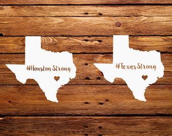 Houston Strong SVG