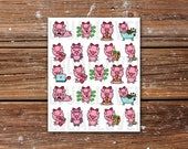 Pookey Pig Chores Planner Stickers l Deco Stickers l Functional Stickers l Functional Planner Stickers l Kawaii Planning Stickers