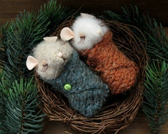 Little mouse felted, needle felted mice, miniature mouse, felted mouse, needle felted mouse, cute felted mouse, mouse toy, felted animal