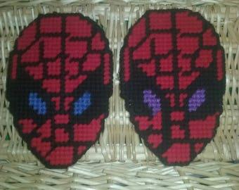 Spiderman head magnet
