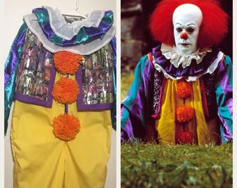 Pennywise costume children Pennywise toddler stephen king Pennywise costume the clown IT costume movie it