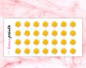 20% OFF A236 | Sunny day Stickers - weather stickers, sun stickers, Daily Planner Stickers, Diary Stickers, Journal Stickers, Scrapbook stic