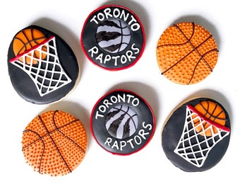 Toronto Raptors sugar cookies