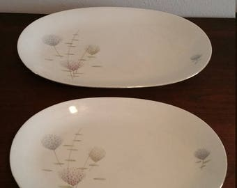 ON SALE Mid Century Serving Platters made in Germany by Baruether Bavaria