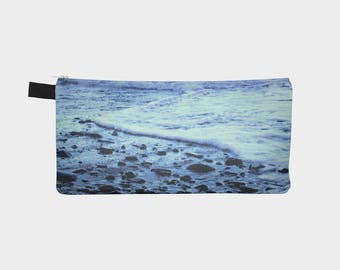 Cell Phone Zipper Pouch   School Pencil Bag   Pencil Zipper Pouch   College School Supplies   Beach   Boho Clutch Purse   Mens Toiletry Bag