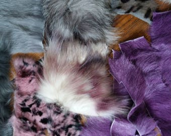 mixed furs scraps