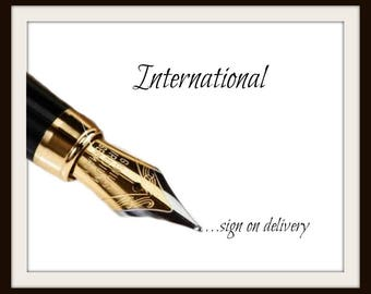 International Sign on Delivery