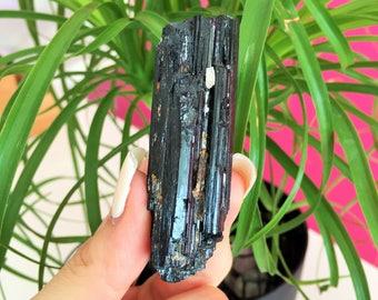 Black Tourmaline Protection Amulet infused w/ Reiki