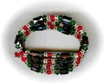 "36"" Christmas Magnetic Wrap Bracelet/Necklace"