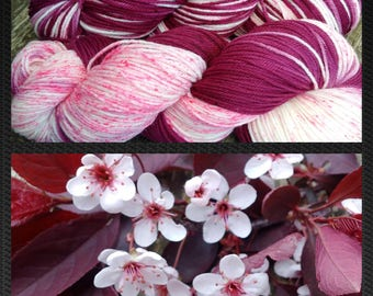 Cottage DK , Hand Dyed Yarn, DK Yarn  4 ply,  SW Merino, 270 yards