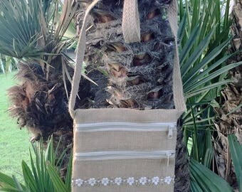 "floral bag ""unique and natural"" - Mexican art - Mexico"