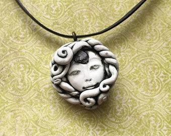 Opal Goddess Pendant