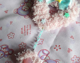 Fluffy Heart (light pnk)