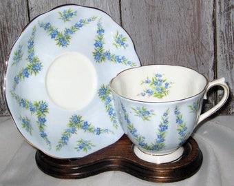 Royal Albert - Blue Taffeta - Teacup Set
