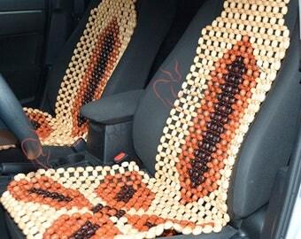 Car seat cover Car seat massager Car wood cover Car cape Car wooden massager Back massager Buttocks massage Roller massager Massage beads