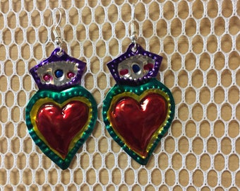 Artistic Hojalatería earrings