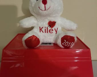 Personalized Valentine's Bear