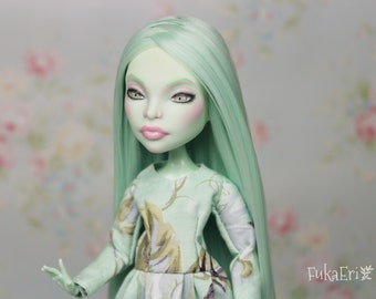 Monster High Custom Repaint Art doll OOAK Scarah Screams