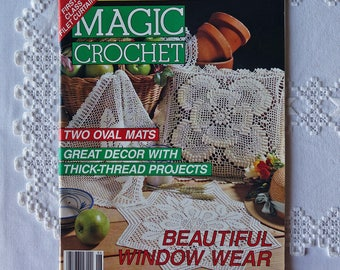 Vintage Magic Crochet magazine - February 1993 - Crocheting pattern