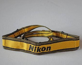 Vintage NIKON camera STRAP