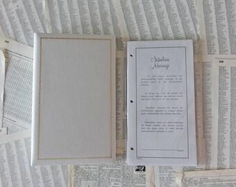 Wedding photo album for 5x5 images Professional Vintage photo album Wedding gift