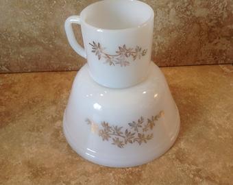 Federal bowl and mug