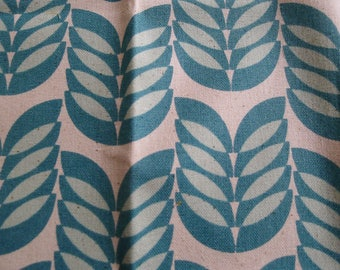 Blue beige Japan 31x32cm Limited Edition Japanese fabric coupon