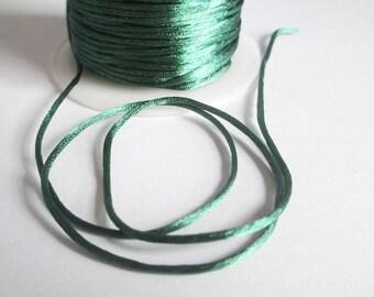 5 m green rat tail 1 mm