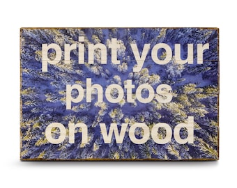 Photo on Wood, photos on wood, Picture on Wood, Valentines Day Gift, Rustic Wall Art, Rustic Home Decor, Anniversary Gifts, Gifts for Dad