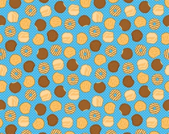 PRE-ORDER**Riley Blake Designs Blue Girl Scout Cookies 100% Cotton