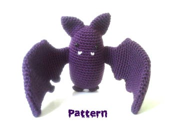 Bat crochet pattern PDF instant download PATTERN