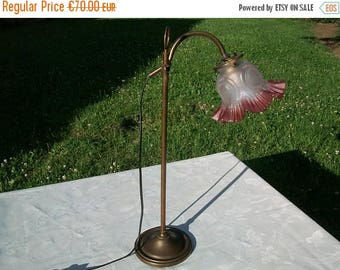 ON SALE French Vintage Table Lamp//Desk Lamp//Bedside Lamp//Mid Century Art Deco Style Table Lamp//Found And Flogged