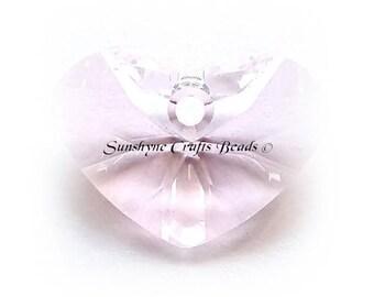 Swarovski ROSALINE 6260 17mm Crazy 4 U Heart Pendant 1 Pc - Swarovski Crystal Elements Beads