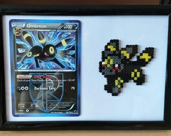 Pokemon Umbreon Frame with Umbreon Card