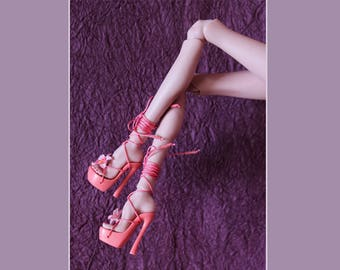 BJD high heel shoes