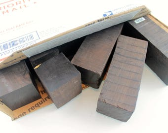 Box of African Blackwood Wood Blanks, Project wood