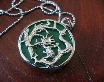 Asian DRAGON Jade pendant