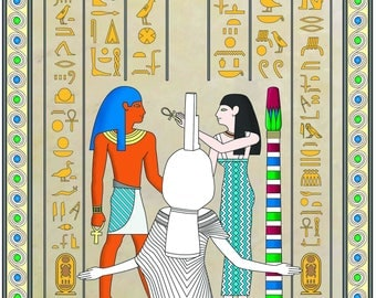 ANCIENT EGYPT - Adult Coloring book